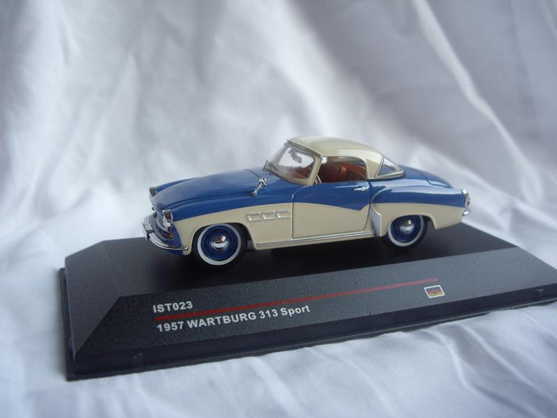 wartburg 313 sport ixo modell 1 43 wartburg service. Black Bedroom Furniture Sets. Home Design Ideas