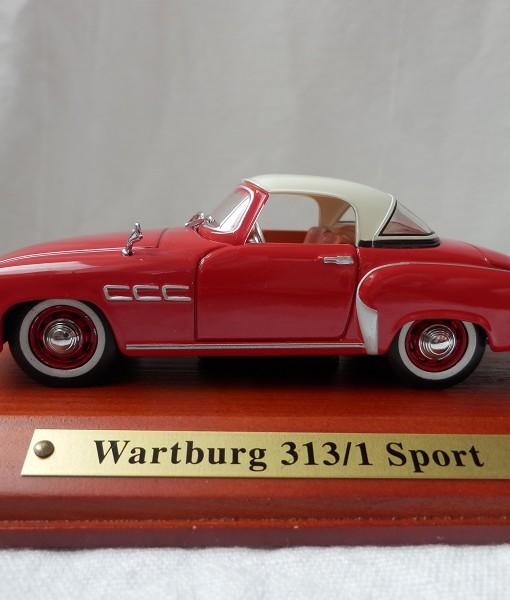 wartburg 313 sport modell 1 43 wartburg service. Black Bedroom Furniture Sets. Home Design Ideas